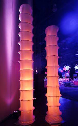 светящиеся колоны