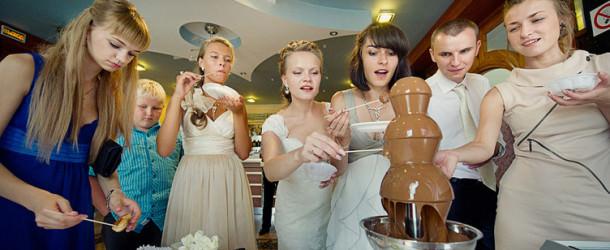 Фонтан на свадьбу