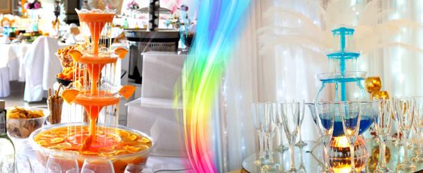 Украшение стола: как украсить шоколадный фонтан