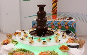chocolate fountain kiev rent