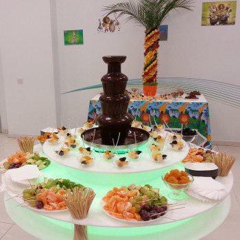 chocolate fountain kiev rent