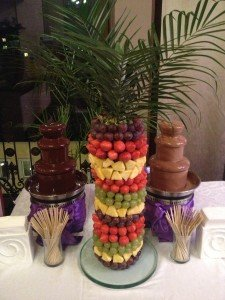 фруктовая нарезка пальма