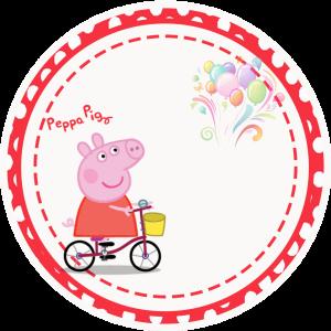свинка пепа наклейка