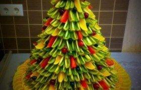 Фруктовая елка