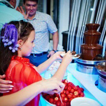 взять в аренду шоколадный фонтан киев