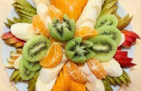 фруктовая нарезка заказать Киев